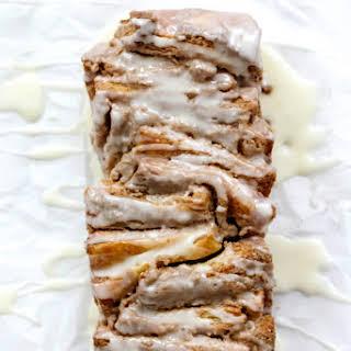 Cinnamon Tahini Pull-Apart Bread.