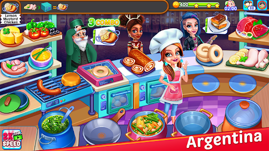 Cooking Express : Star Restaurant MOD (Unlimited Money) 2