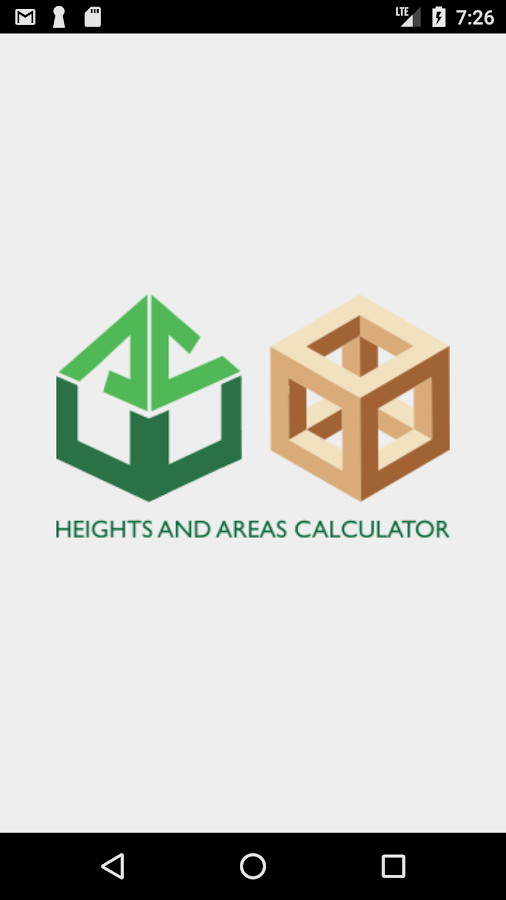 Heights and Areas Calculator- screenshot