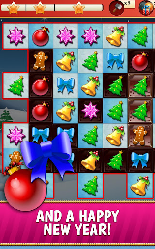 Christmas Crush Holiday Swapper Candy Match 3 Game 1.35 screenshots 8
