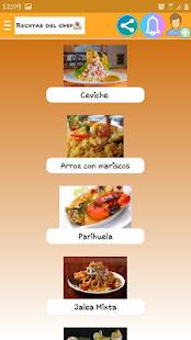 Recetas del chef for PC-Windows 7,8,10 and Mac apk screenshot 4