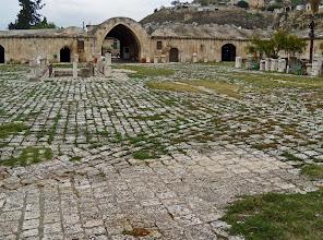 Photo: Apamea, old karavanserai converted into a museum .......... Een oude karavansarai omgebouwd als museum