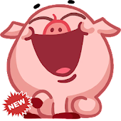 🐷 WAStickerApps Cute Animals