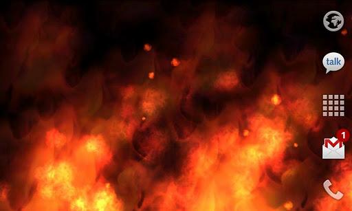 KF Flames Free Live Wallpaper screenshot 3