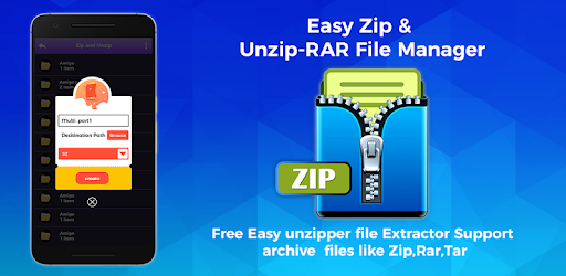 Easy Zip And Unzip-RAR File Manager – Programme op Google Play