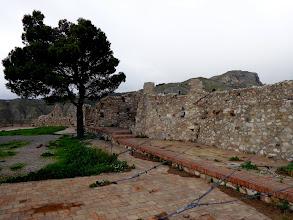 Photo: Castello walls Castelmola