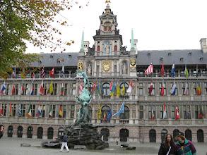 Photo: The big market square, aka the Grote Markt.