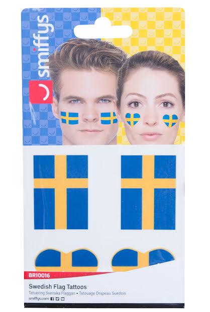 Tatuering, svensk flagga