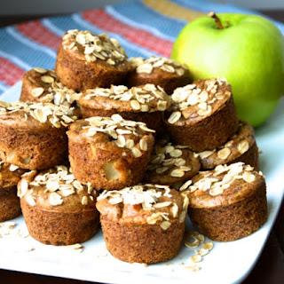 Flourless Butternut Squash Apple Muffins