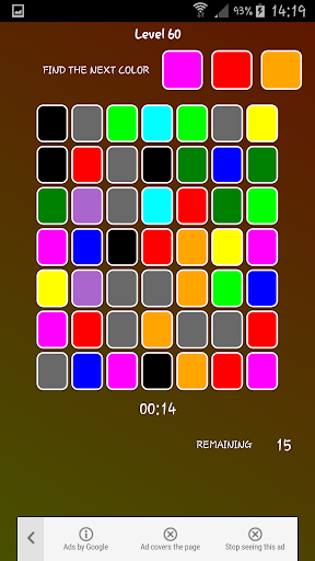 Color Count Speed