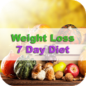 Weight Loss 7 Days Diet icon