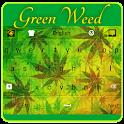 Green Weed Keyboard icon