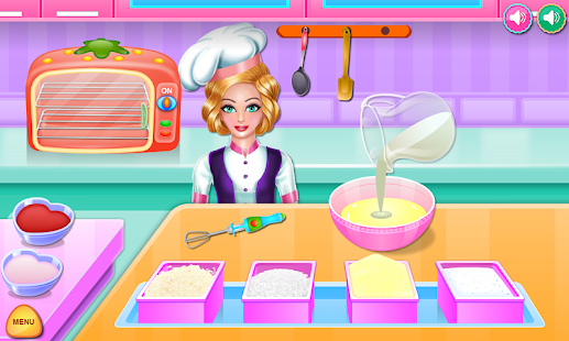 Game Olivia cooking strawberry cake APK for Windows Phone