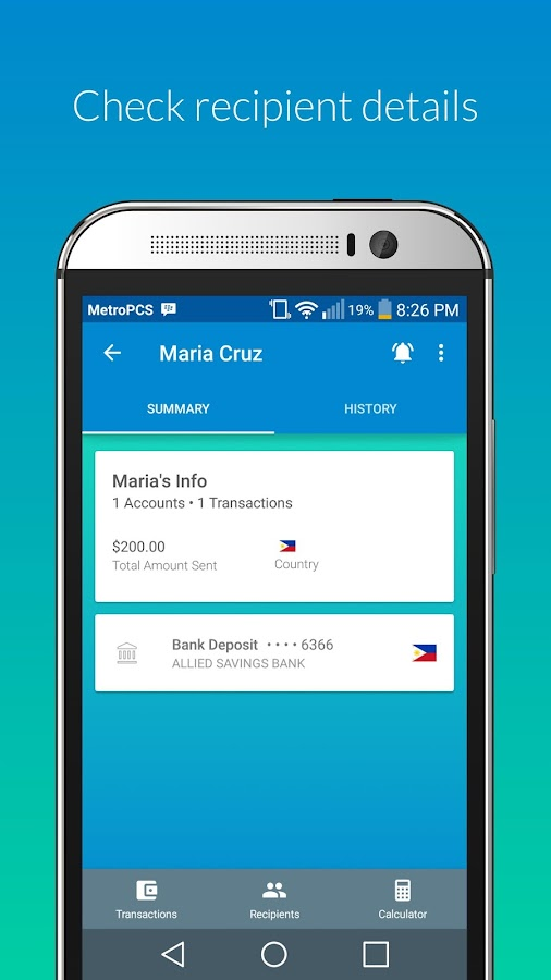 Transfast - Money Transfer- screenshot
