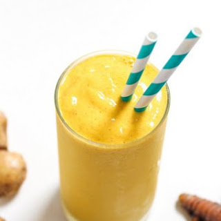 Turmeric Ginger Smoothie.