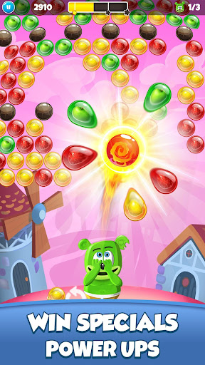 Gummy Bear Bubble Pop - Kids Game apktram screenshots 6