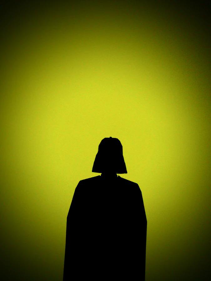 darth vader silhouette
