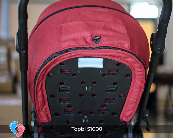 Xe đẩy cao cấp 2 chiều Topbi S1000 23