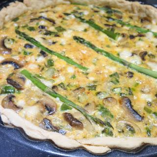 Asparagus and Mushroom Quiche Recipe