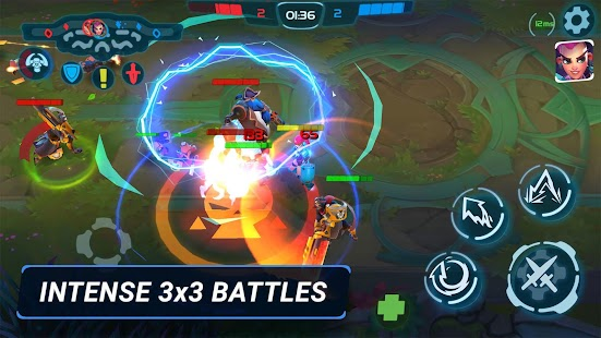 Planet of Heroes - Mobile MOBA (Unreleased)- screenshot thumbnail