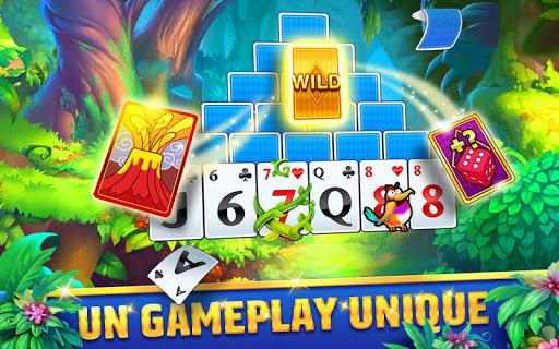 Solitaire TriPeaks Journey: jeu de cartes gratuit  captures d'écran 3