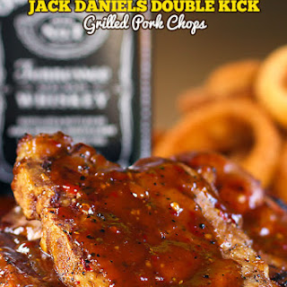 Jack Daniels Double Kick Pork Chops.