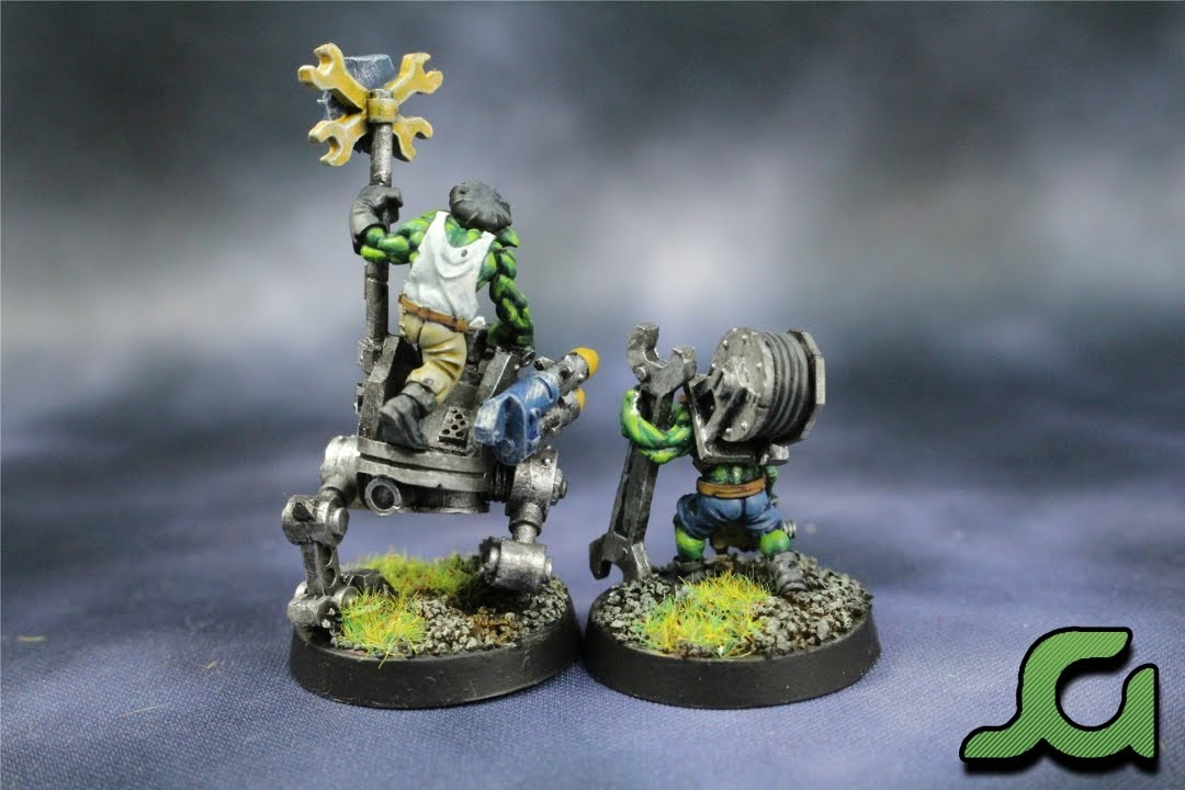 Grot Mechanics rear