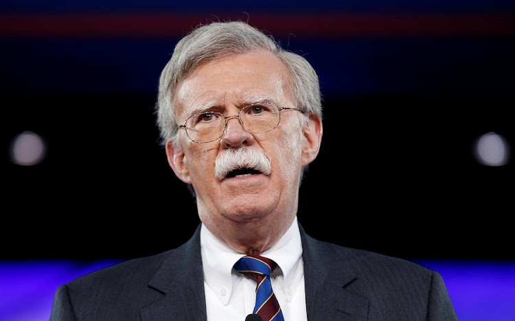 National security advisor John Bolton. Picture: REUTERS/JOSHUA ROBERTS