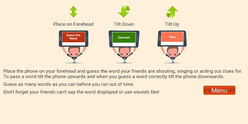 Charades Guess the Word 1.6 screenshots 4