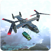 US Army Transport Game – Cargo Plane Transporter