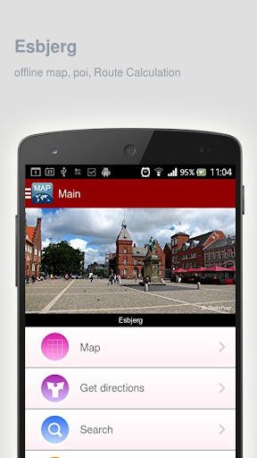 Esbjerg Map offline