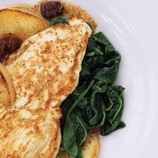 Turkey Cutlets with Pears and Tarragon.
