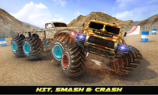 Army Monster Truck Demolition : Derby Games 2020 for PC-Windows 7,8,10 and Mac apk screenshot 2
