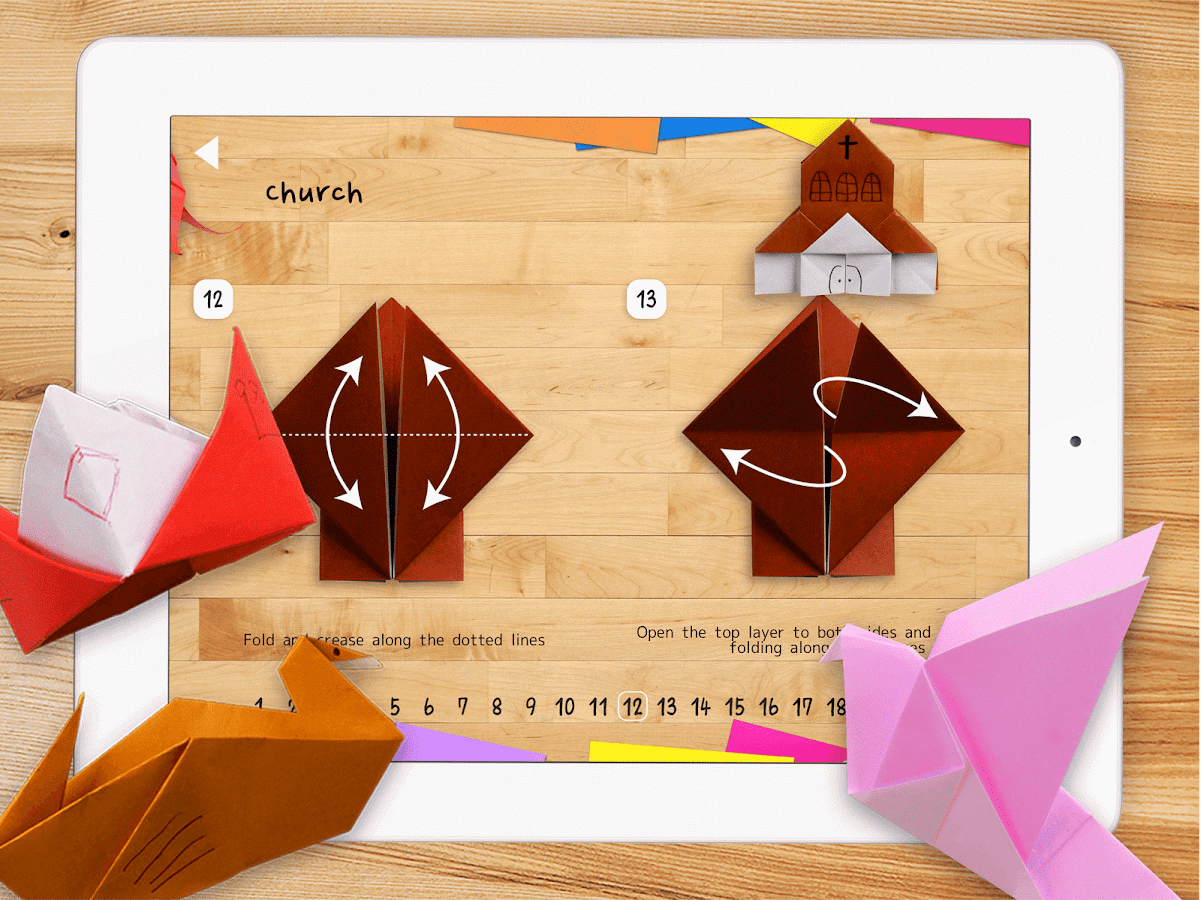 Kids Origami 8- screenshot