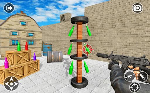 Impossible Bottle Shooting Game 2019 screenshot 14