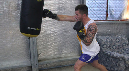 Daniel Jobson training pre-fight