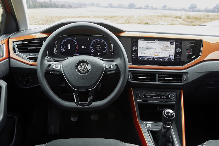 The interior is more driver focused with loads of tech, although much of it will cost you extra. Picture: VOLKSWAGEN