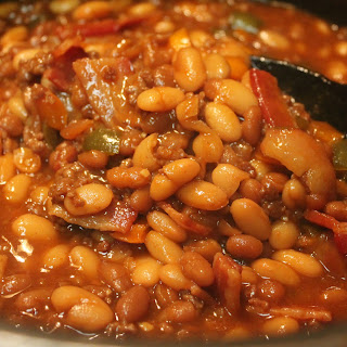 Baked Beans With Ground Beef Brown Sugar Recipes.