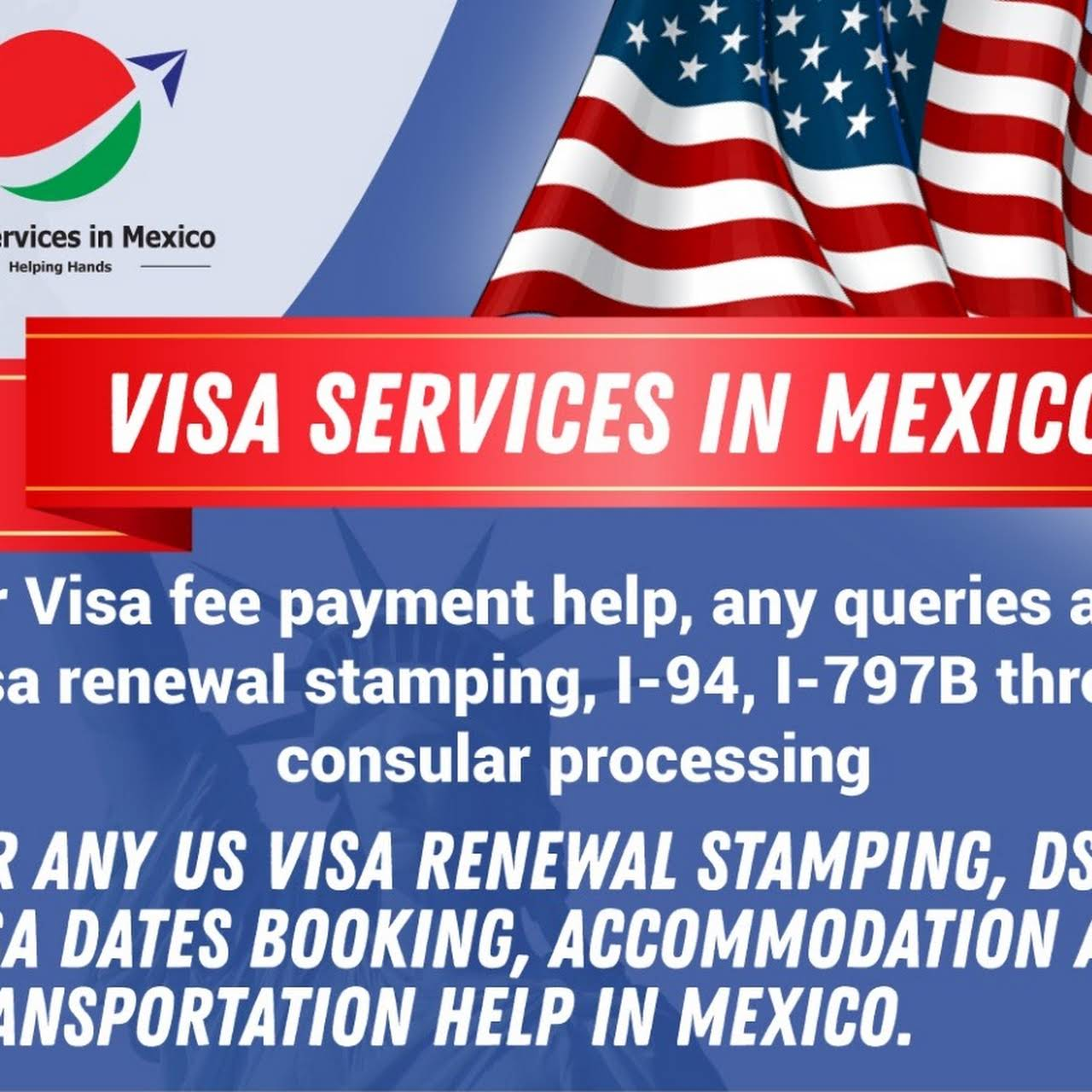 H1B Stamping LLC-US Visa Application MRV Fee payment Service