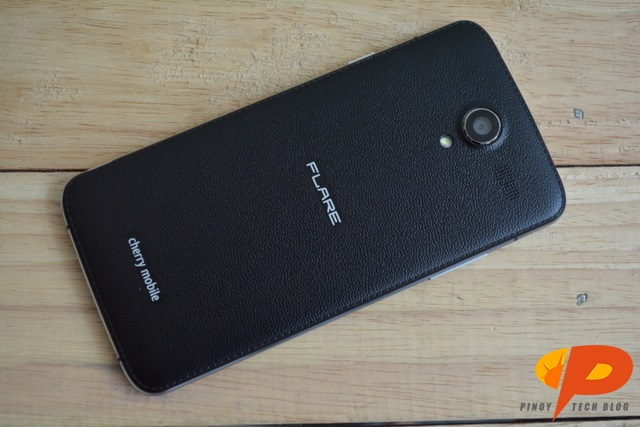 Cherry Mobile Flare 4 Review back