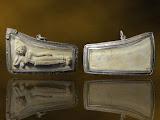 ปี 2517 พระสมเด็จบางขุนพรหม พิมพ์ไสยาสน์ วัดใหม่อมตรส บางขุนพรหม เลี่ยมเงิน
