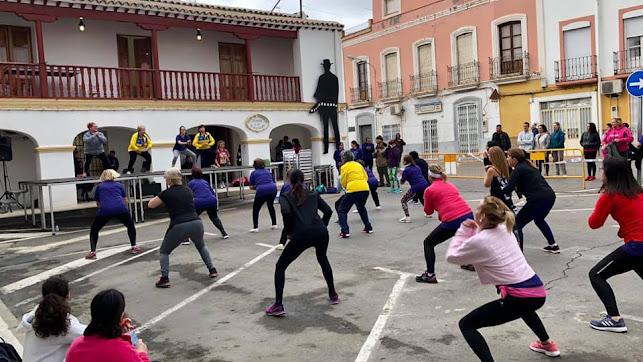 Jornada deportiva en Tabernas.