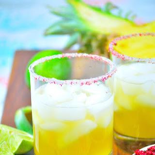 Pineapple-Pink Peppercorn Margarita.