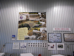 Photo: Some of the posters on the hangar wall