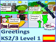 Spanish Greetings Ks2