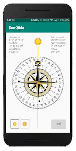 Download Sun Qibla - Find Qibla using Sun position For PC Windows and Mac apk screenshot 1
