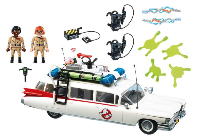Contenido Real de Playmobil® 9220 Ecto-1 Ghostbusters