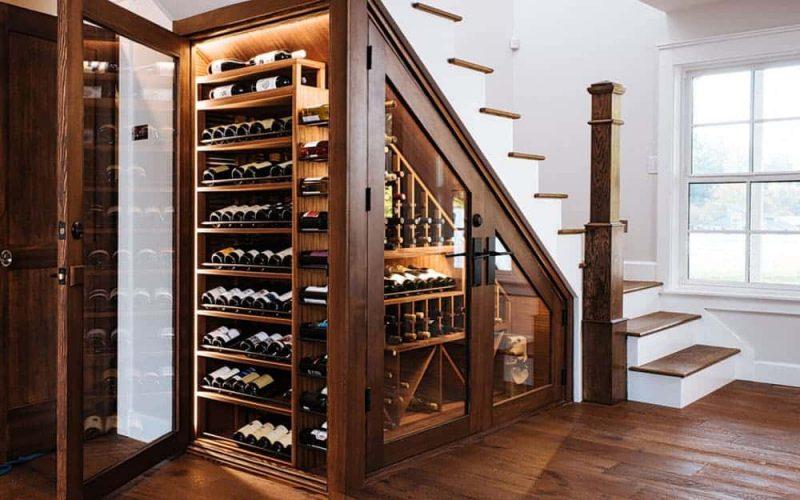 Vị trí đặt tủ và kiểu dáng tủ rượu vang