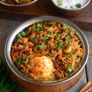 Egg Biryani-Muttai Biryani