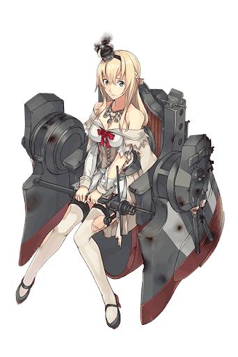 Warspite改中破
